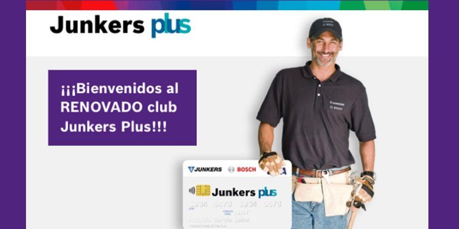 Nueva campaña de bombas de calor y calderas en un renovado Club Junkers Plus