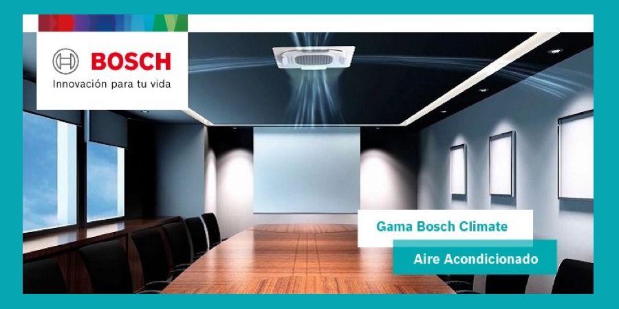 Amplia gama de soluciones en la nueva tarifa de aire acondicionado de Bosch