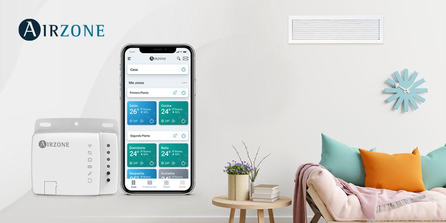 Aidoo de Airzone: la comodidad de controlar el aire acondicionado desde el móvil