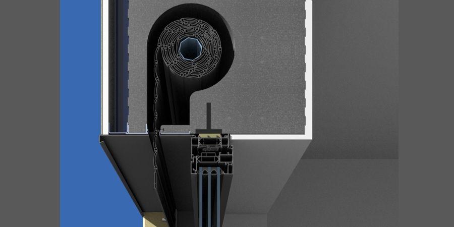 Cajón de persiana CRG de Cajaislant: simple y flexible para un mejor aislamiento térmico y acústico