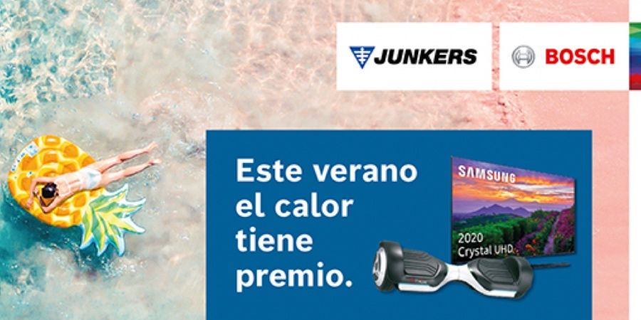 Campaña estival de Junkers-Bosch para instalar calentadores y termos eléctricos
