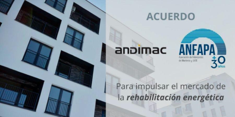 Andimac y ANFAPA impulsarán conjuntamente el mercado de la rehabilitación energética