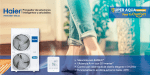 Haier Aire lanza Super Aqua, el sistema sostenible de Aerotermia Monobloc
