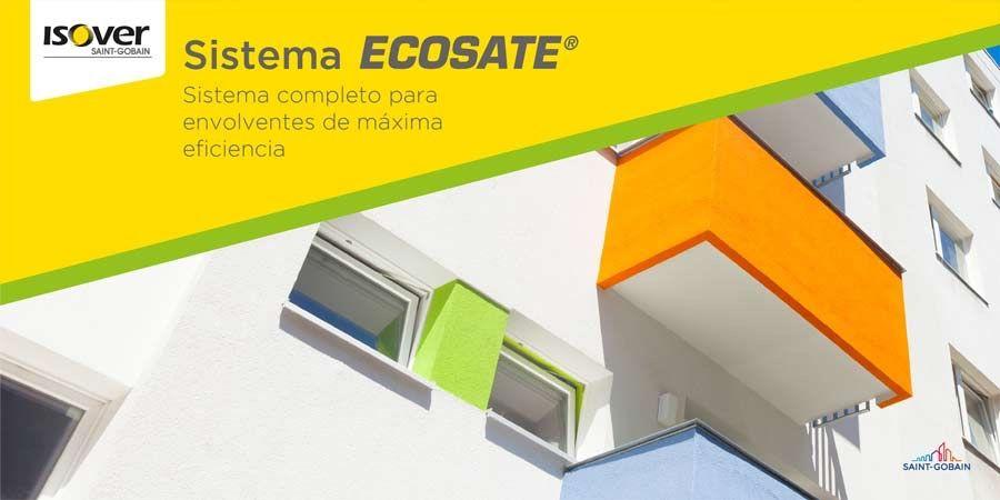 ECOSATE® by ISOVER, el primer sistema integral para crear fachadas y envolventes eficientes