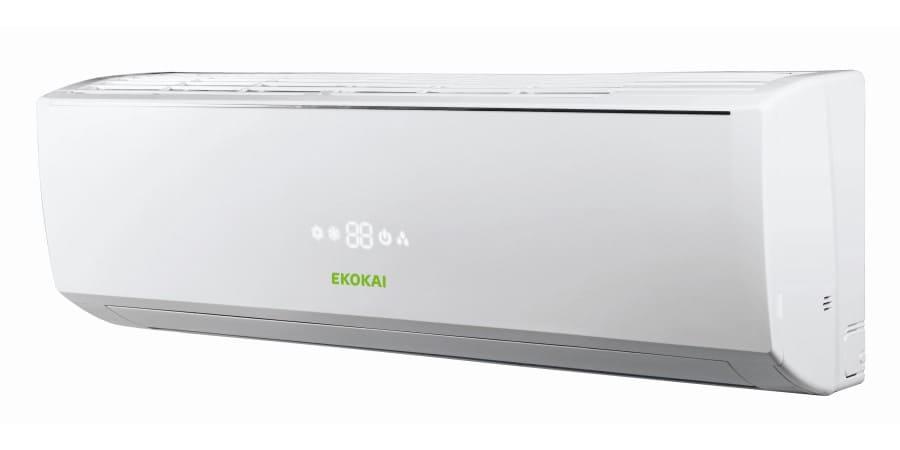 Split de pared serie Atlantic de Ekokai con filtros purificadores especiales