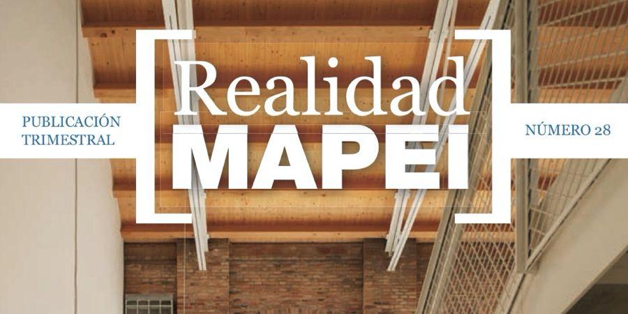 El último número de la revista Realidad Mapei incluye un monográfico del Premio Mapei 2020