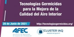 tecnologias germicidas afec cluster iaq