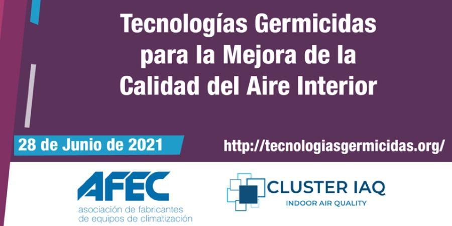Jornada online sobre tecnologías germicidas para mejorar la calidad del aire interior