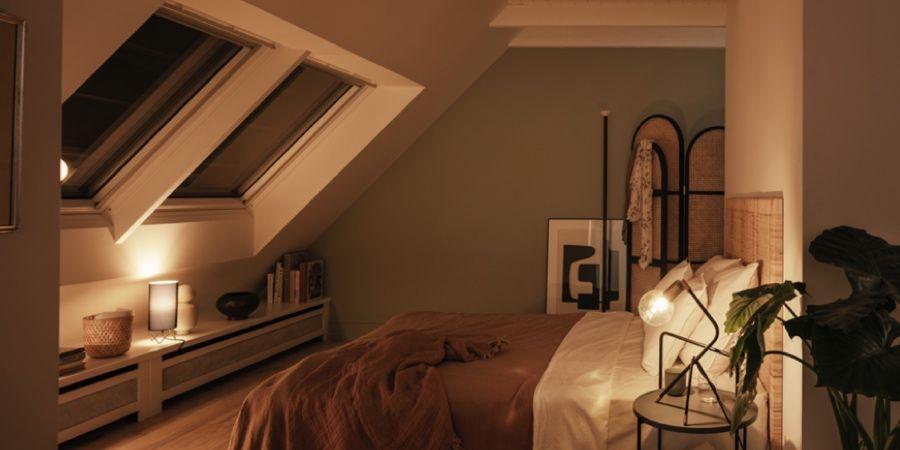 Toldo de oscurecimiento SSS de Velux para lograr confort y eficiencia energética en verano