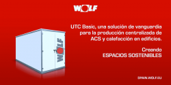 cambios salas de calderas utc wolf