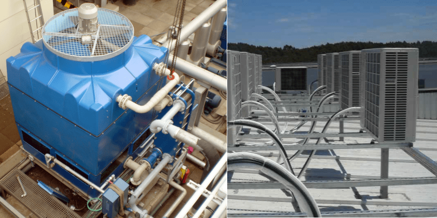 equipos refrigeracion evaporativa vs equipos aire