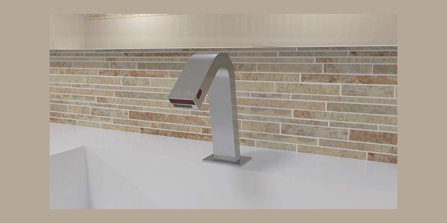 Duplo de Clever, un innovador grifo electrónico que dispensa agua y jabón