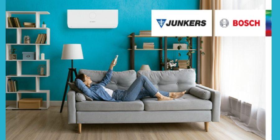 Junkers Bosch apuesta por equipos de aire acondicionado eficientes que velan por la salud en el hogar