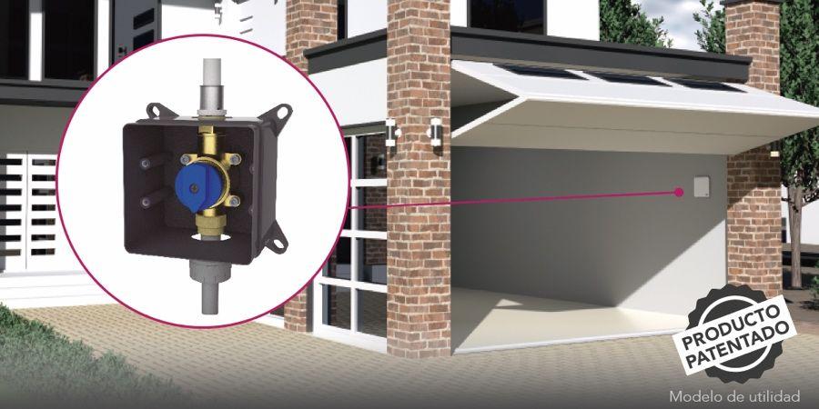 Sistema de cierre registrable iKansas, la alternativa a las válvulas de paso empotradas tradicionales