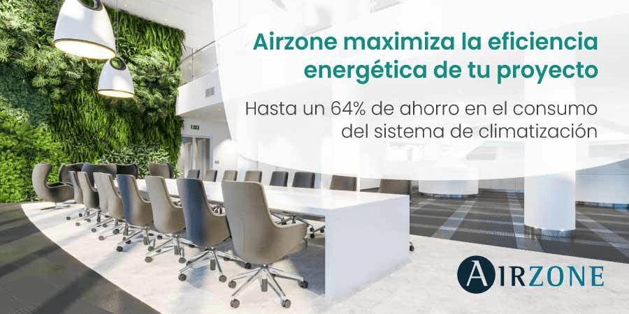 Airzone apuesta por los edificios sostenibles y saludables
