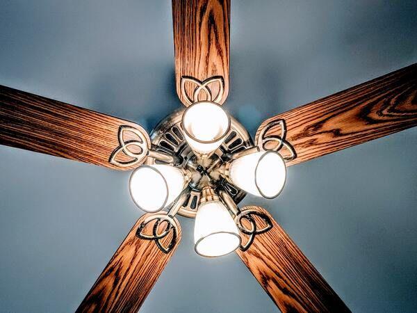 ventiladores de techo con luz