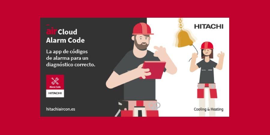 AirCloud Alarm Code para diagnóstico rápido de los productos de Hitachi Cooling & Heating