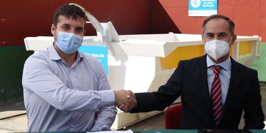 Alcorcón empieza a reciclar yeso de la mano de Saint-Gobain Placo
