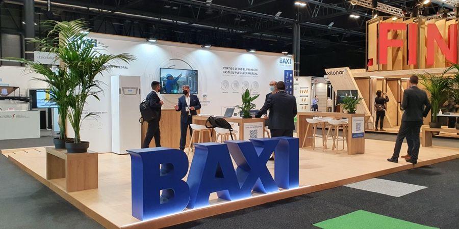 BAXI confirma su apuesta por la aerotermia en Rebuild 2021