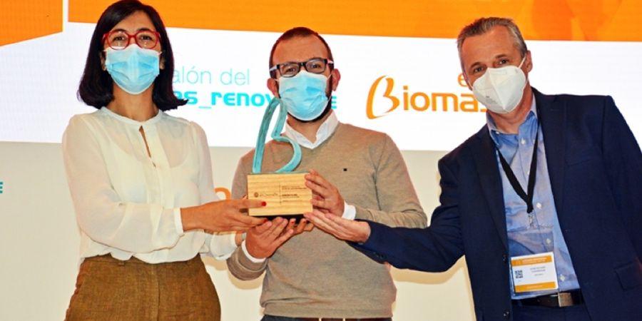Entrega de los Premios Innovación en EXPOBIOMASA 2021