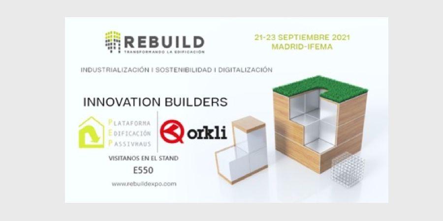 Rebuild 2021 mostrará las soluciones más innovadoras y eficientes de Orkli