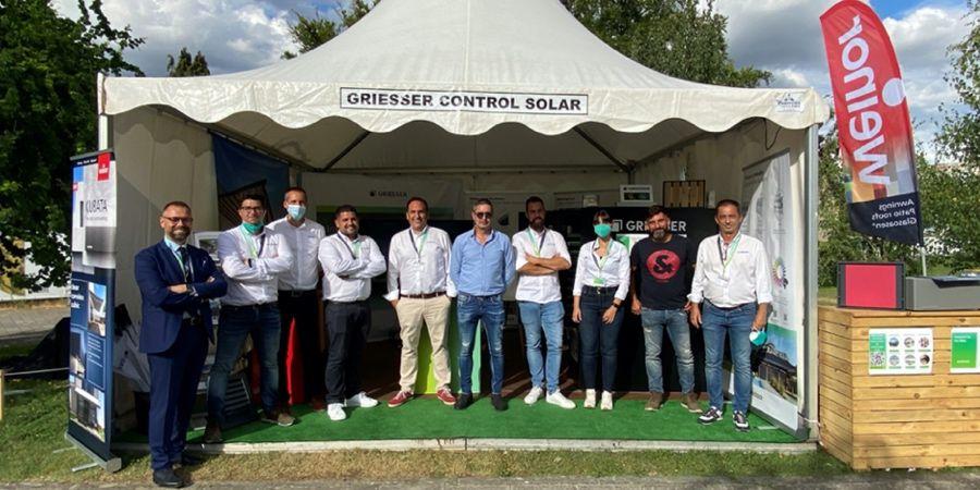 Excelente acogida de las soluciones en protección solar de Griesser en Edifica 21