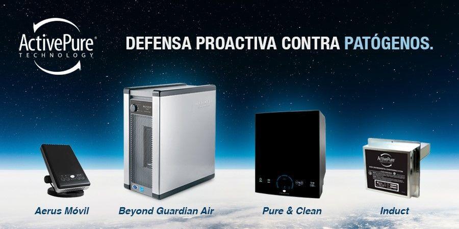 ActivePure®, la Tecnología Espacial Certificada que te defiende de patógenos infecciosos
