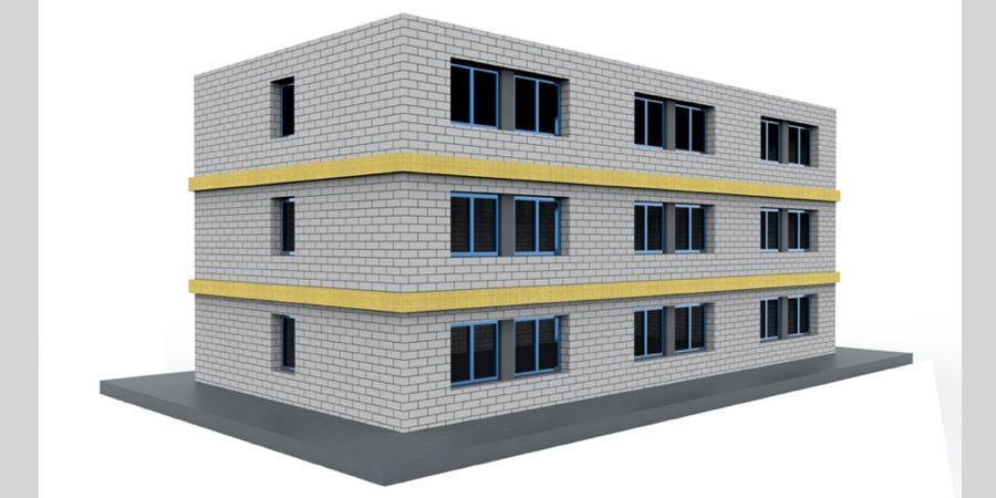 Sistemas webertherm para protección frente al fuego en fachadas de edificios con SATE
