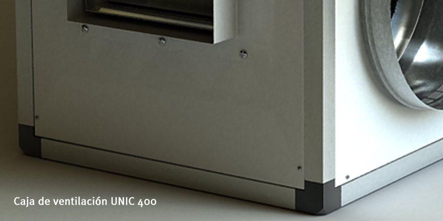 caja de ventilacion unic 400 morgui