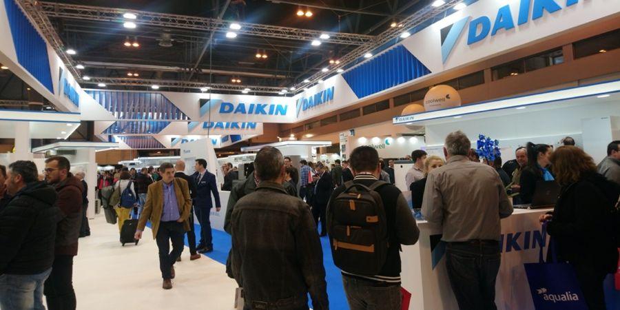 Las novedades de Daikin estarán presentes en la Feria de Climatización y Refrigeración 2021