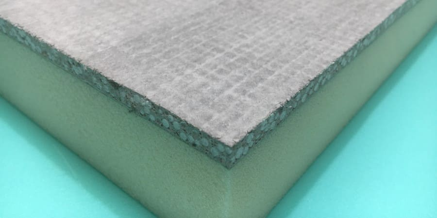 Sistema de construcción eficiente TABIHAUS® con paneles de sal EPSOM y XPS 100 % reciclado