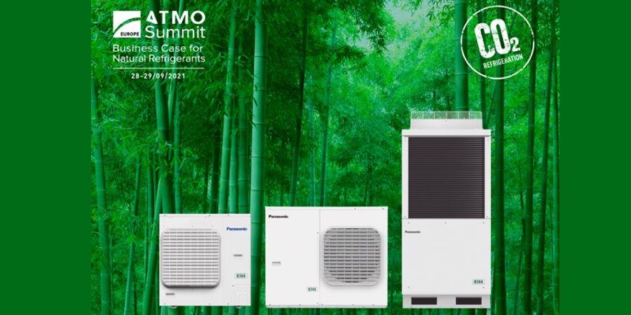 Panasonic presentó sus soluciones de refrigeración sostenibles en ATMOsphere Europe 2021